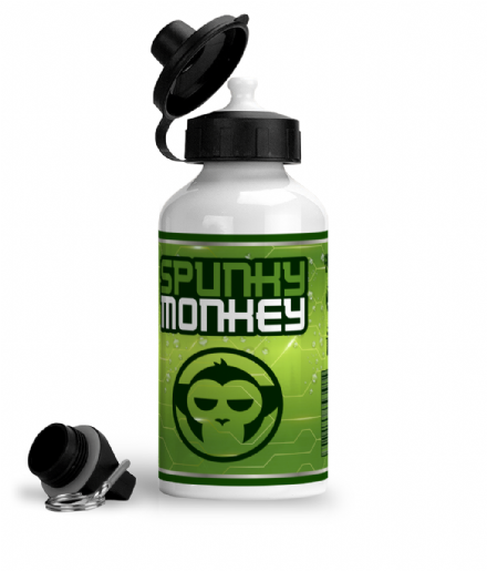 Spunky Monkey Energy Juice Sports or Gym Water Bottle Inspired by Cyberpunk 2077
